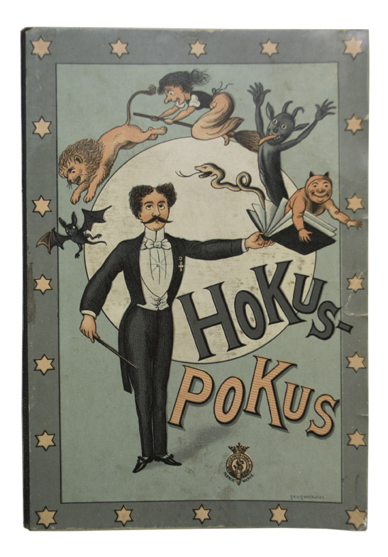 MAGIC AND CONJURING. - [Blow Book] Hokus-Pokus.