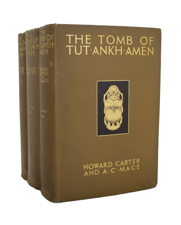 CARTER, Howard. - Tomb of Tut-Ankh-Amen.